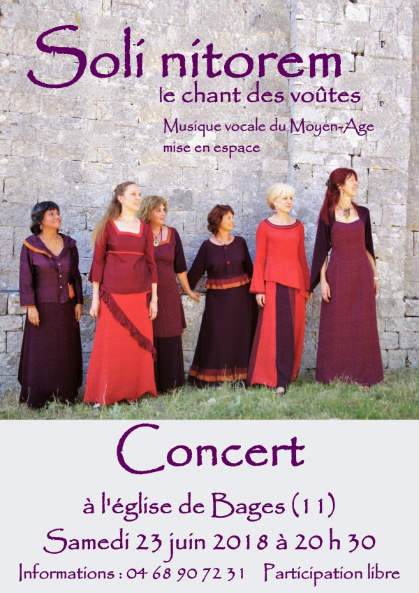 Bages, Concert SOLI NITOREM @ Eglise Saint Martin | Bages | Occitanie | France